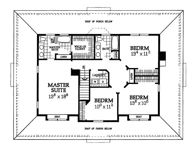symmetrical home plans