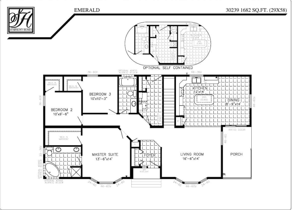 symphony homes floor plans