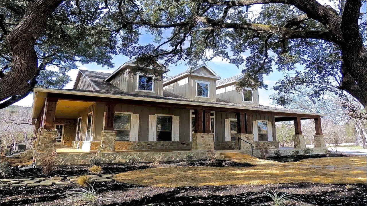 Texas Hill Country House Plans with Wrap Around Porch Texas Hill