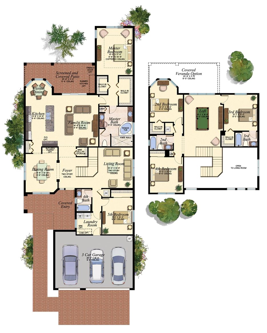floor plans for homes in the villages florida