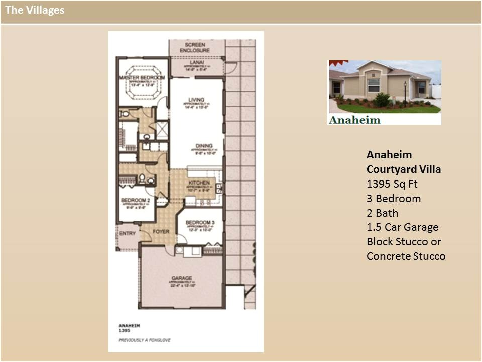 floor plans in the villages fl
