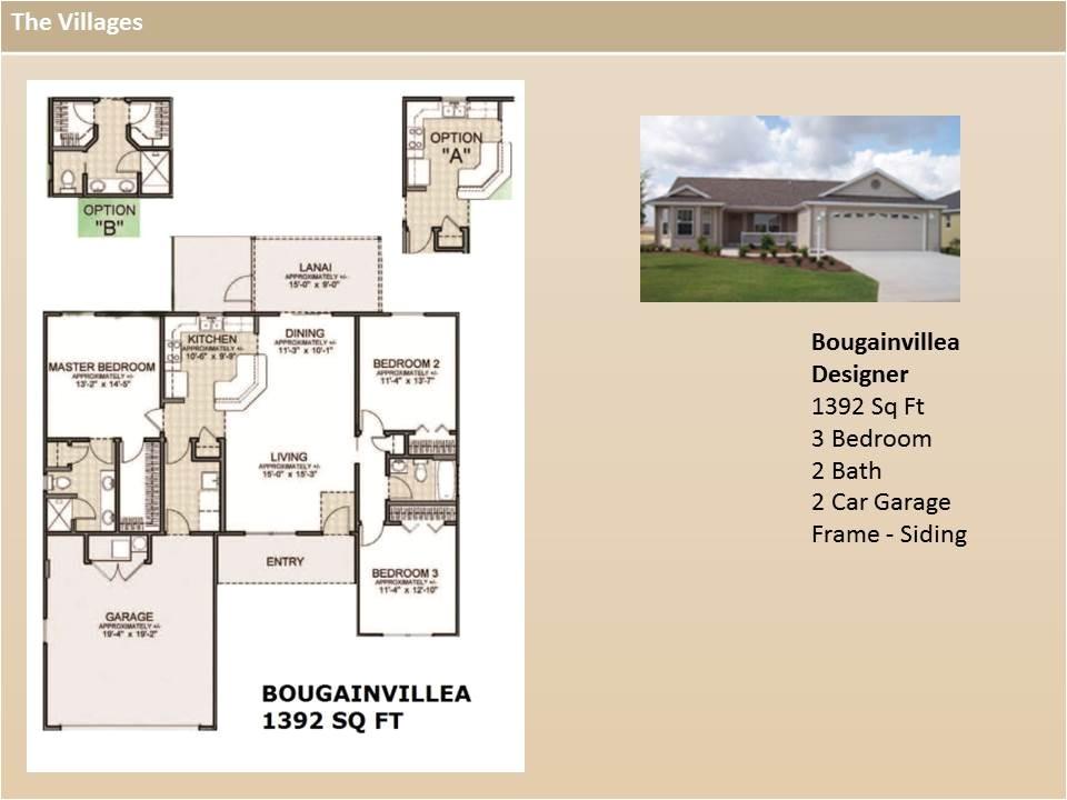 the villages designer home floor plans