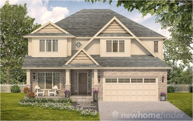 Thomasfield Homes Floor Plans Monticello Model at Mayberry Hill In Guelph