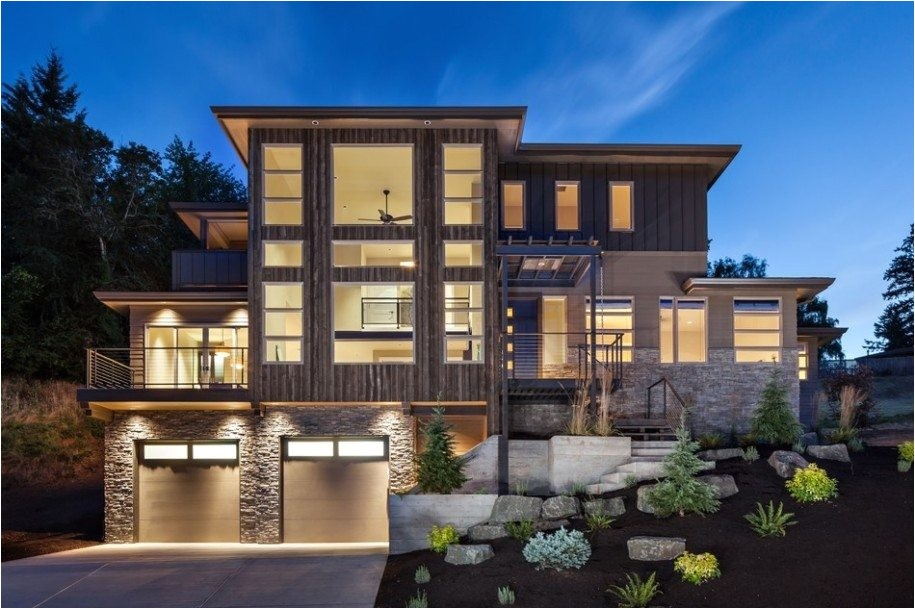 simple modern 3 story house plans
