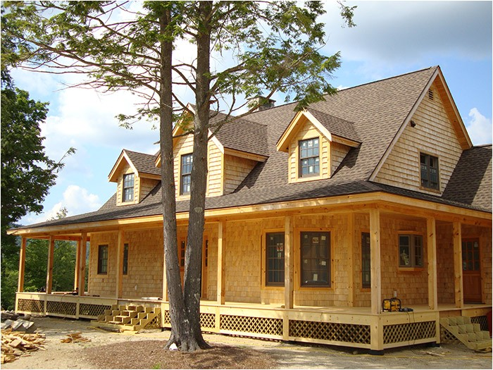 timber stick frame house built homes 2