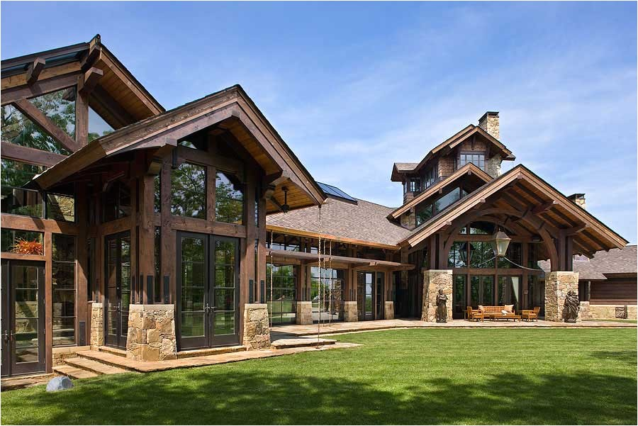 timber frame home design
