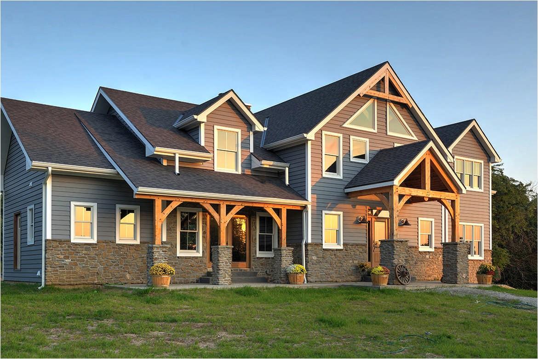 timber frame homes plans quebec