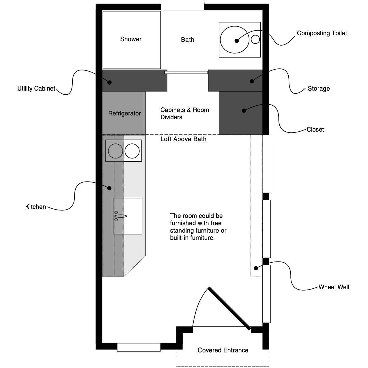 small house floor plans free