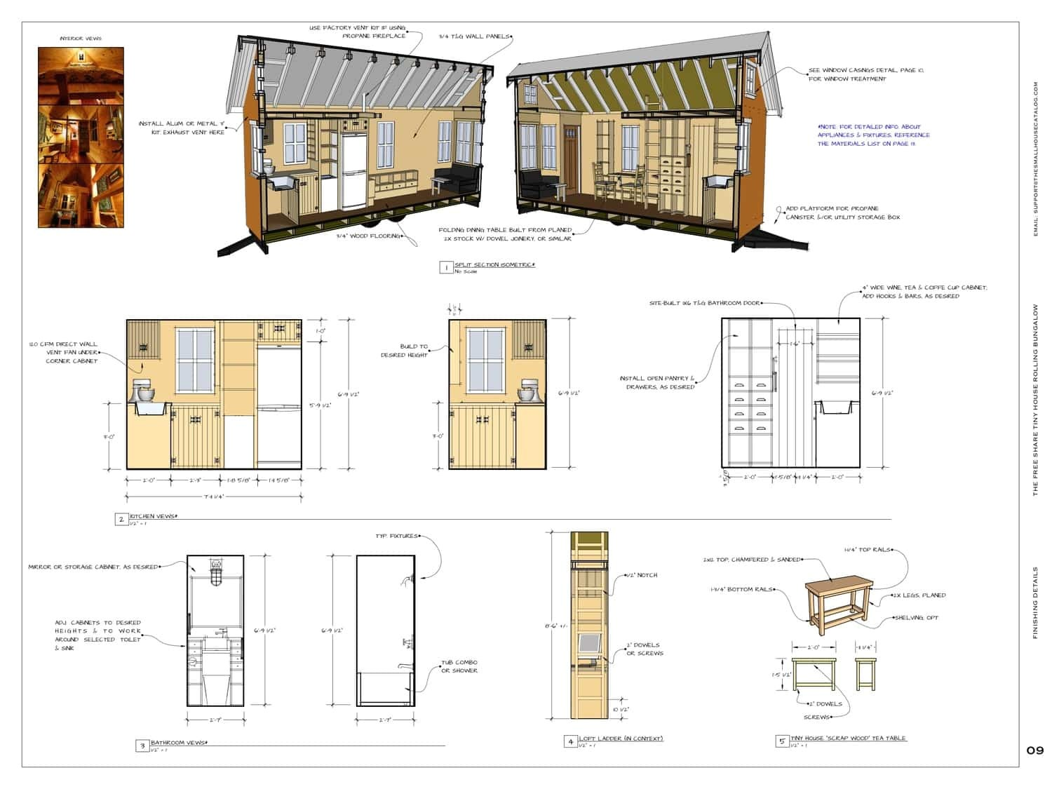 Tiny Home Plan Get Free Plans to Build This Adorable Tiny Bungalow Tiny