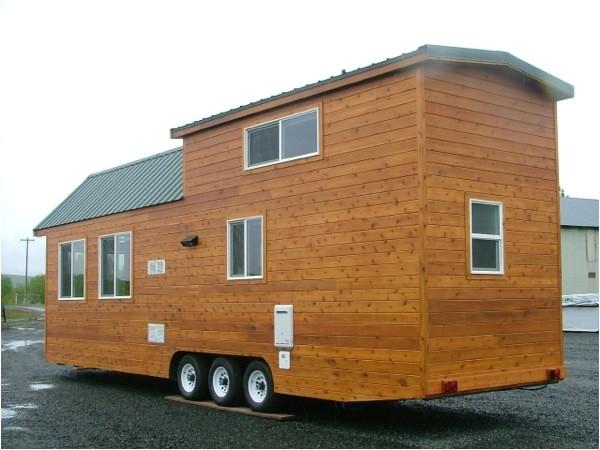 extra long tiny house on wheels