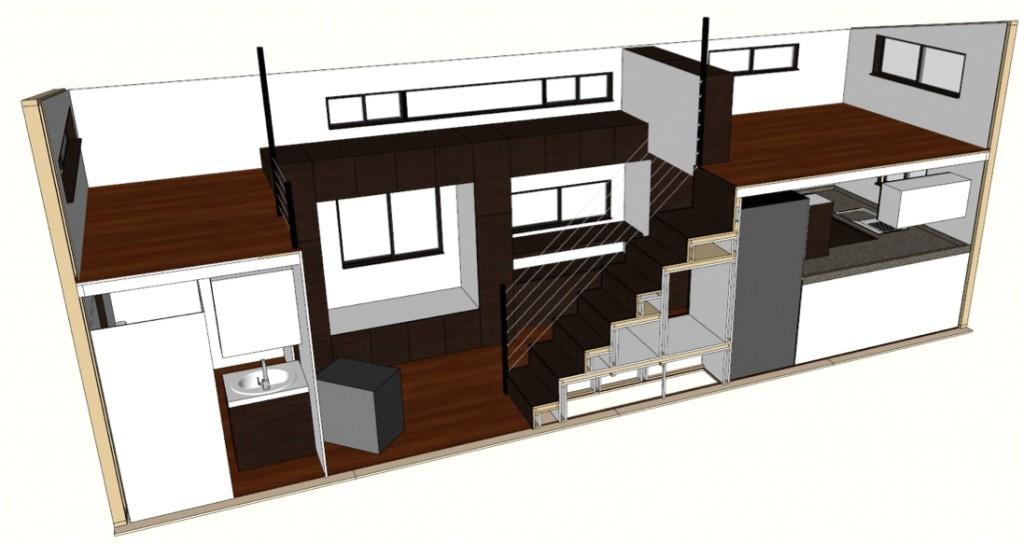 no loft tiny houses floor plans