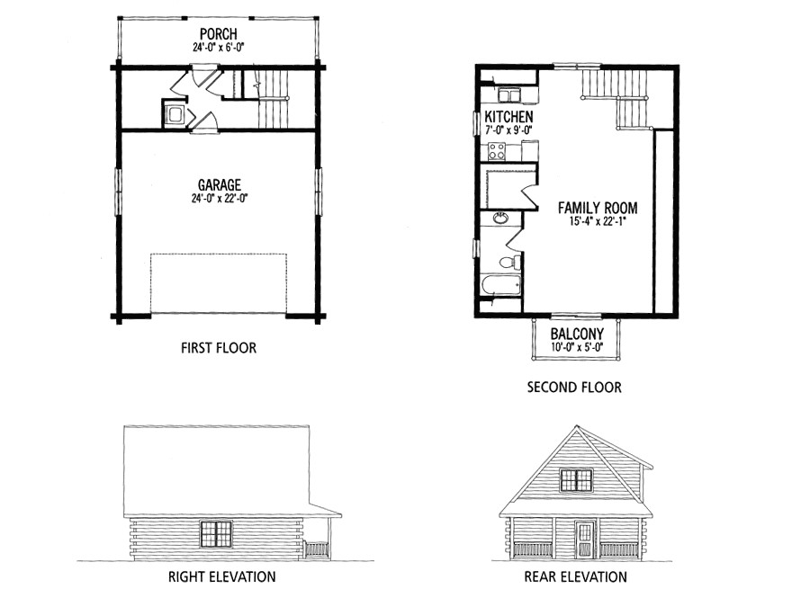 small house plans with loft