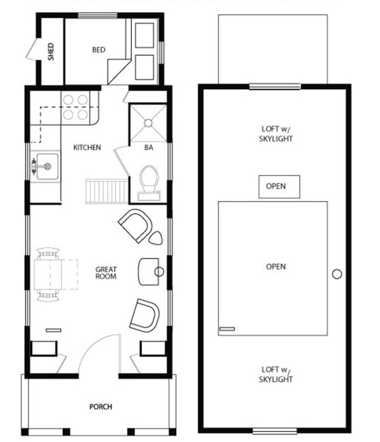 tiny house on wheels floor plans nice design and simple good idea for build our home