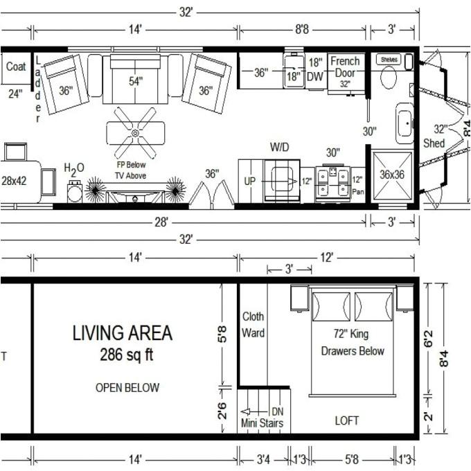 tiny house floor plans 10x12 small tiny house floor plans 650fcb9ec690f799