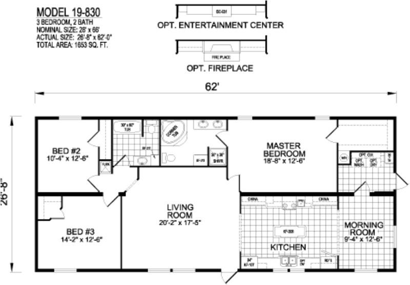 inspiring titan mobile home floor plans photo