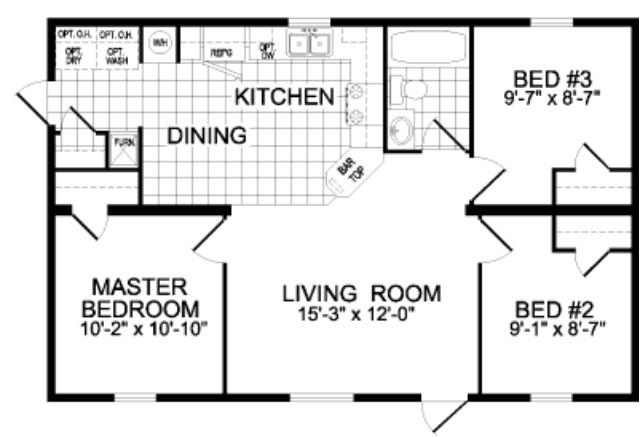 titan mobile home floor plans