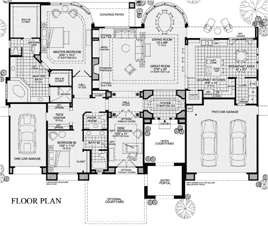 toll brothers house plans