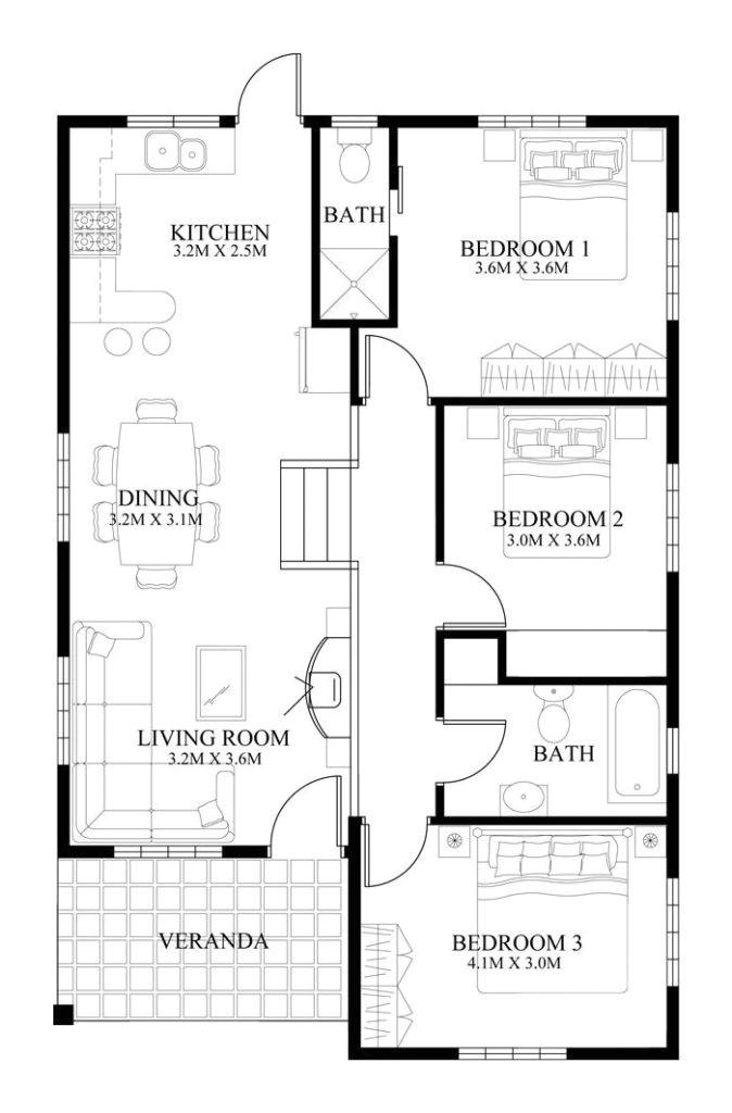 small modern house plan designs lovely best 25 modern house floor plans ideas on pinterest