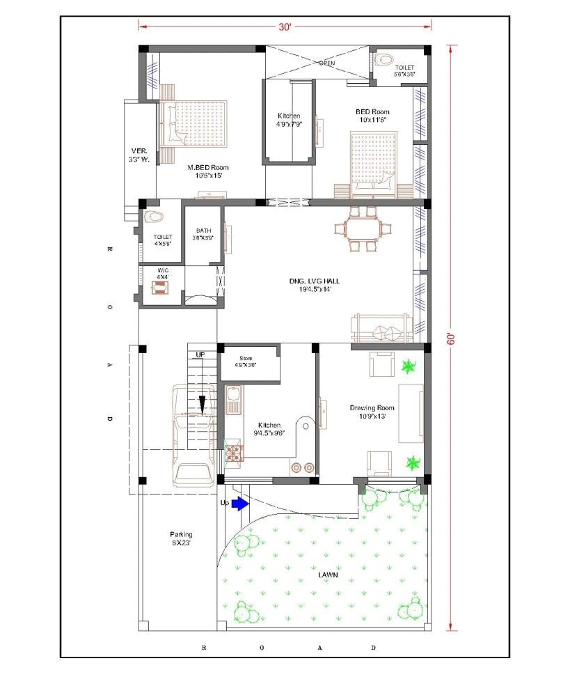 Top House Plan Websites Duplex House Plans for 30×60 Site Google Search Chhaya