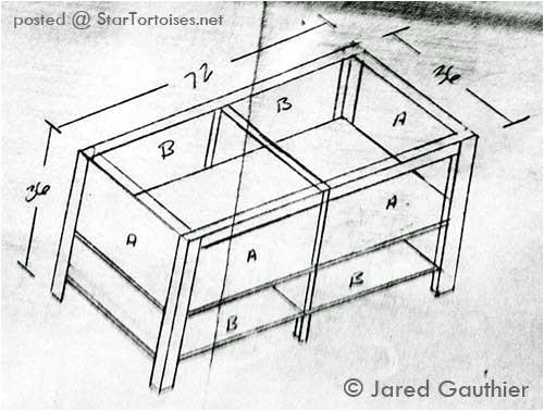 indoor tortoise house plans