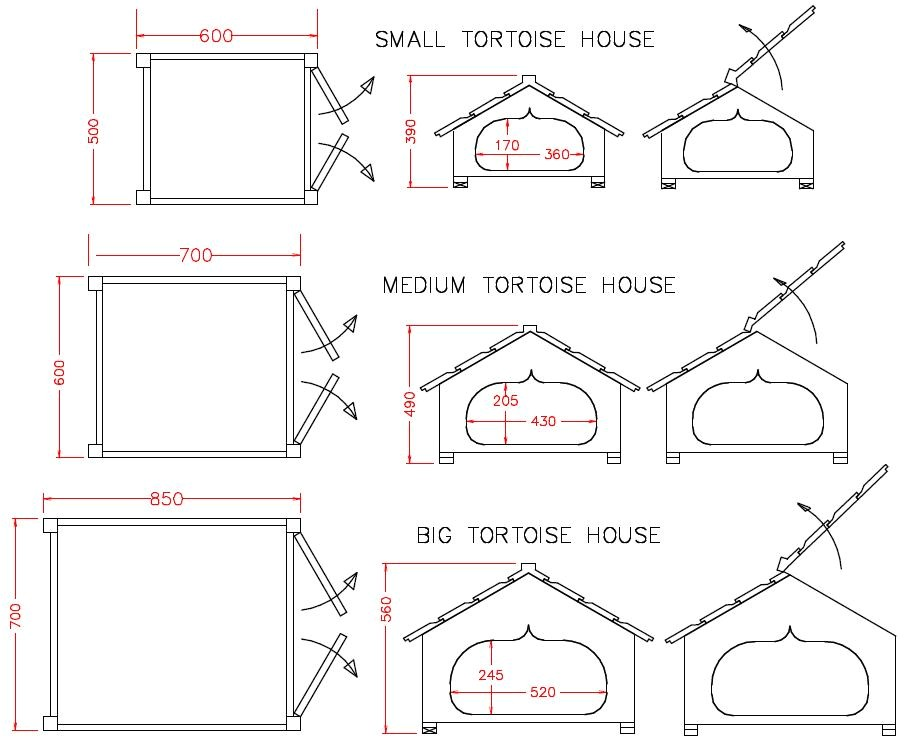 Tortoise House Plans Small tortoise House tortoisehsml tortoise Houses by