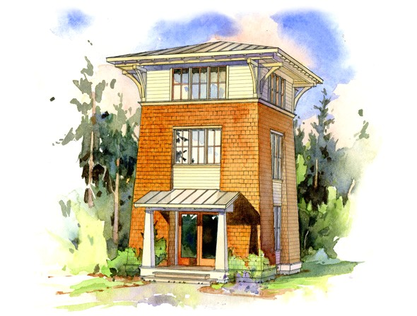 Tower Home Plans the Alder tower Perfect Little House