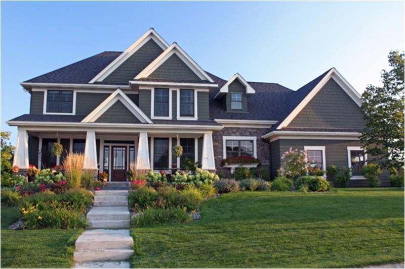 3313 square feet 4 bedrooms 3 5 bathroom craftsman home plans 4 garage 34049