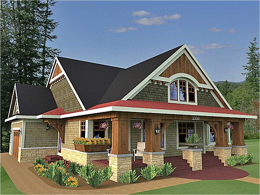 Traditional Craftsman Home Plan Traditional Craftsman Style House Plans House Design Plans