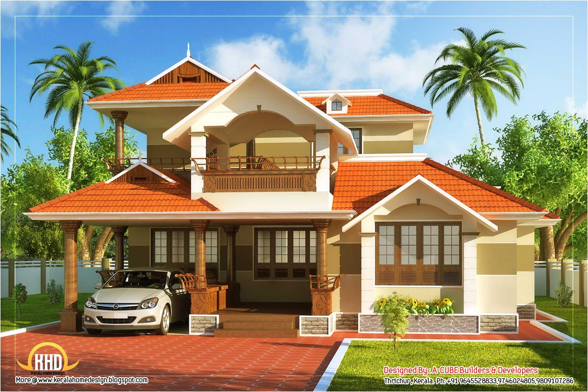 kerala style traditional house 2000 sq