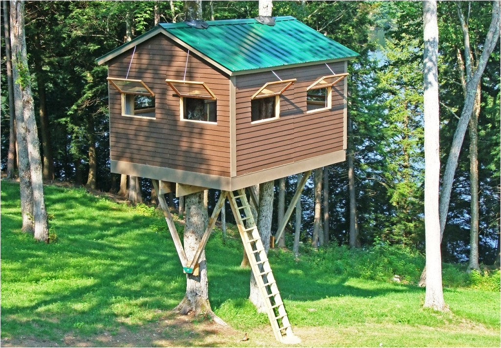 Tree House Plans for Sale Unique Tree House Plans and Designs Free New Home Plans