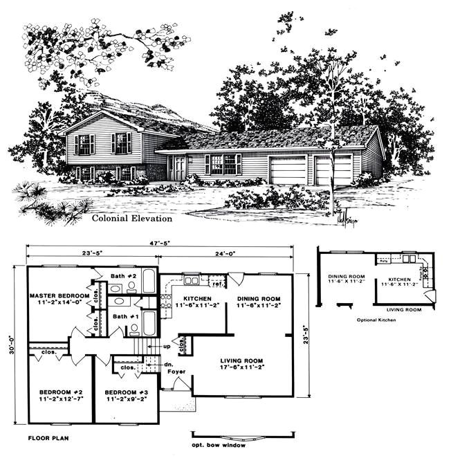 Tri Level Homes Plans Beautiful Tri Level House Plans 8 1970s Tri Level Home