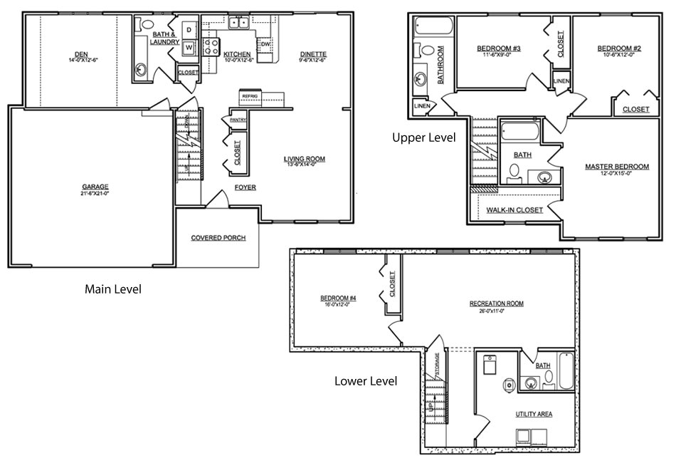 tri level house floor plans 20 photo gallery