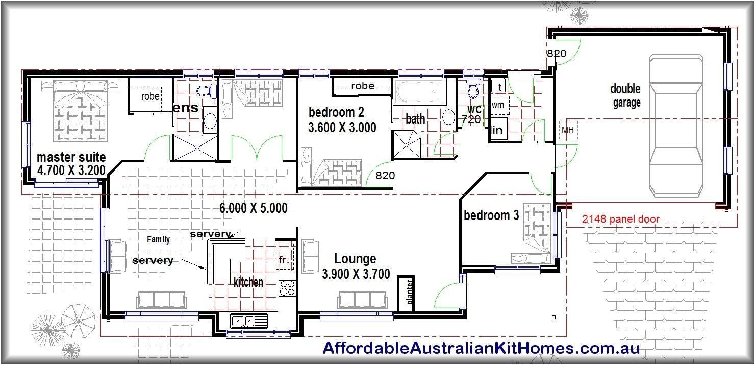 a frame house plans 4 bedroom