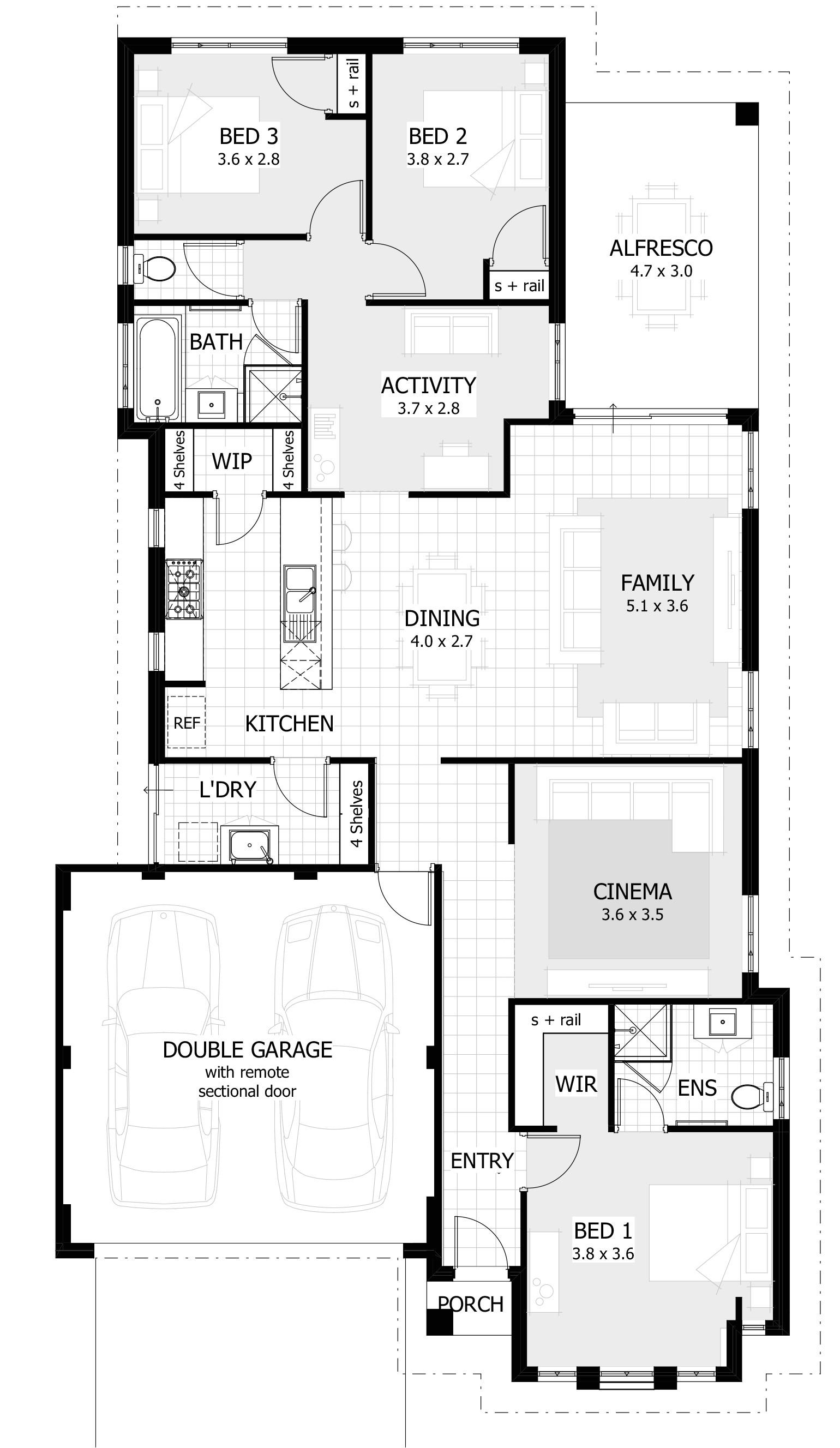 shouse house plans