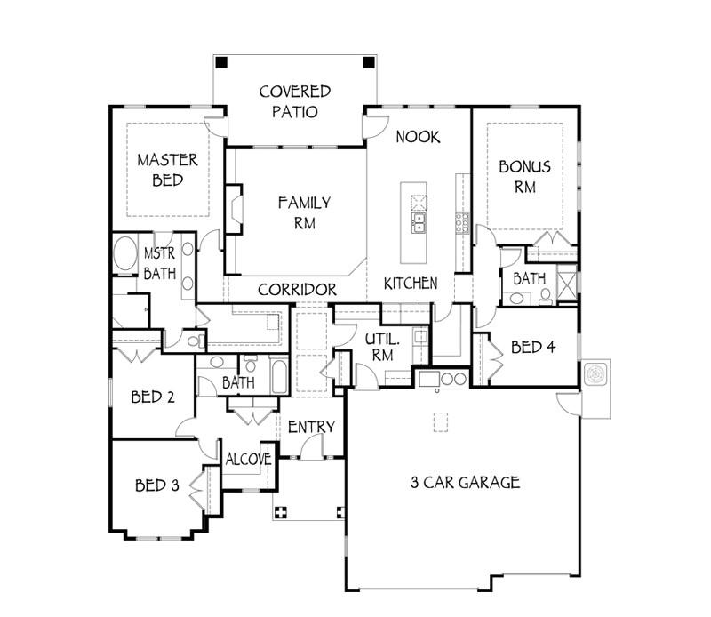 highland homes floor plans nice monroe floor plan highland homes