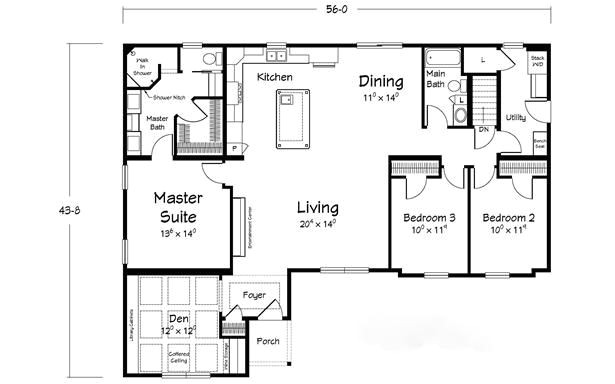 floor plan layout triple crown the preakness