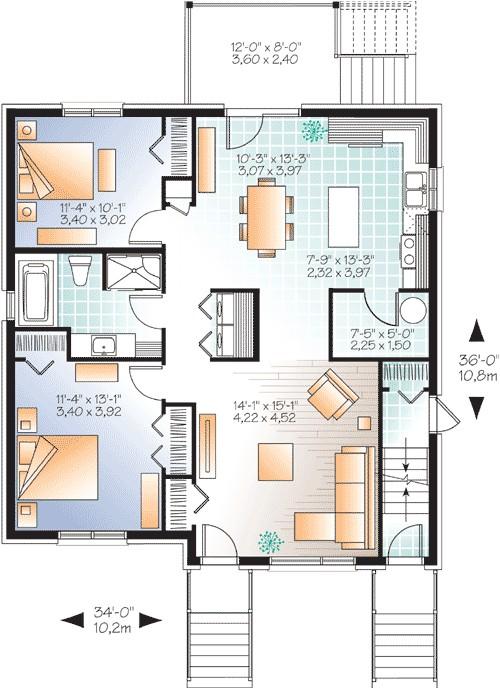 house plan 22325dr