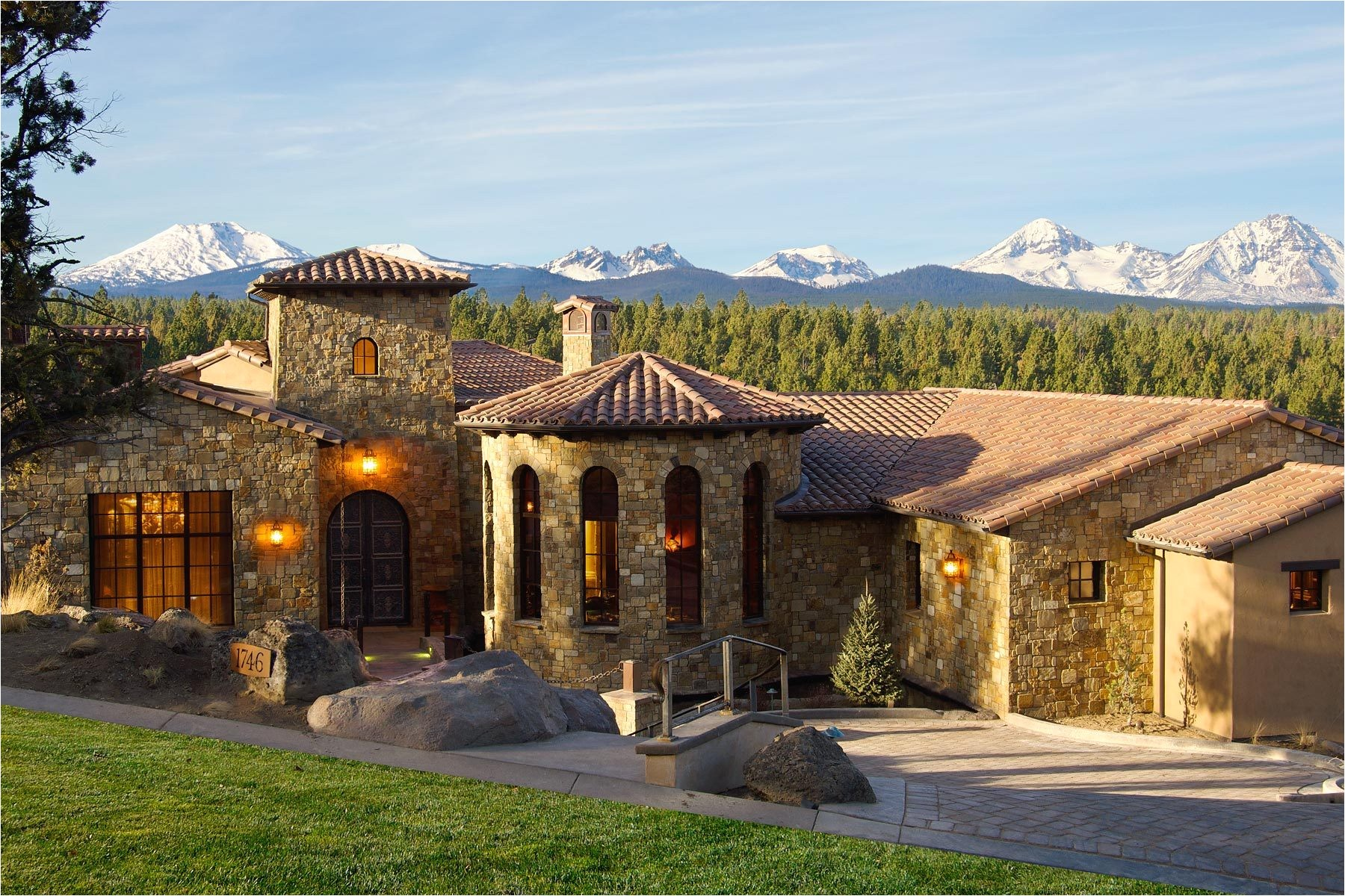 the tuscan style house plans