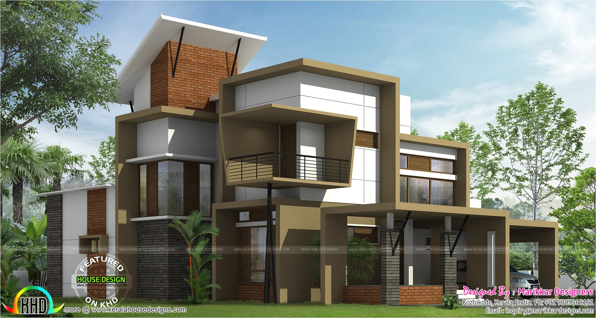 modern ultra contemporary house