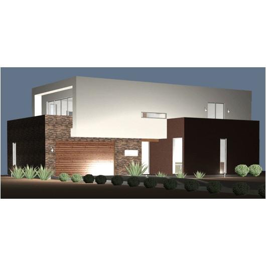 ultra modern houseplan