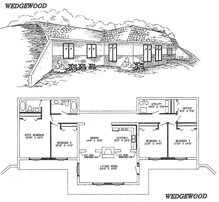 awesome earth house plans 7 earth sheltered home plans designs