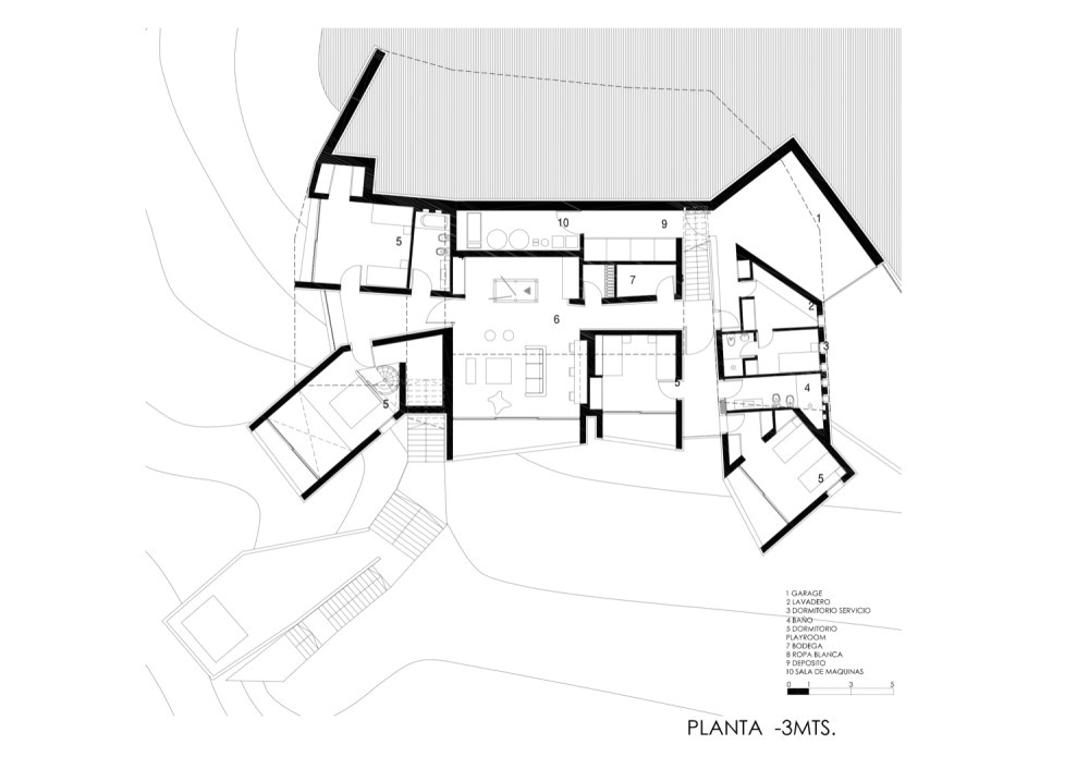 underground floor plan 01