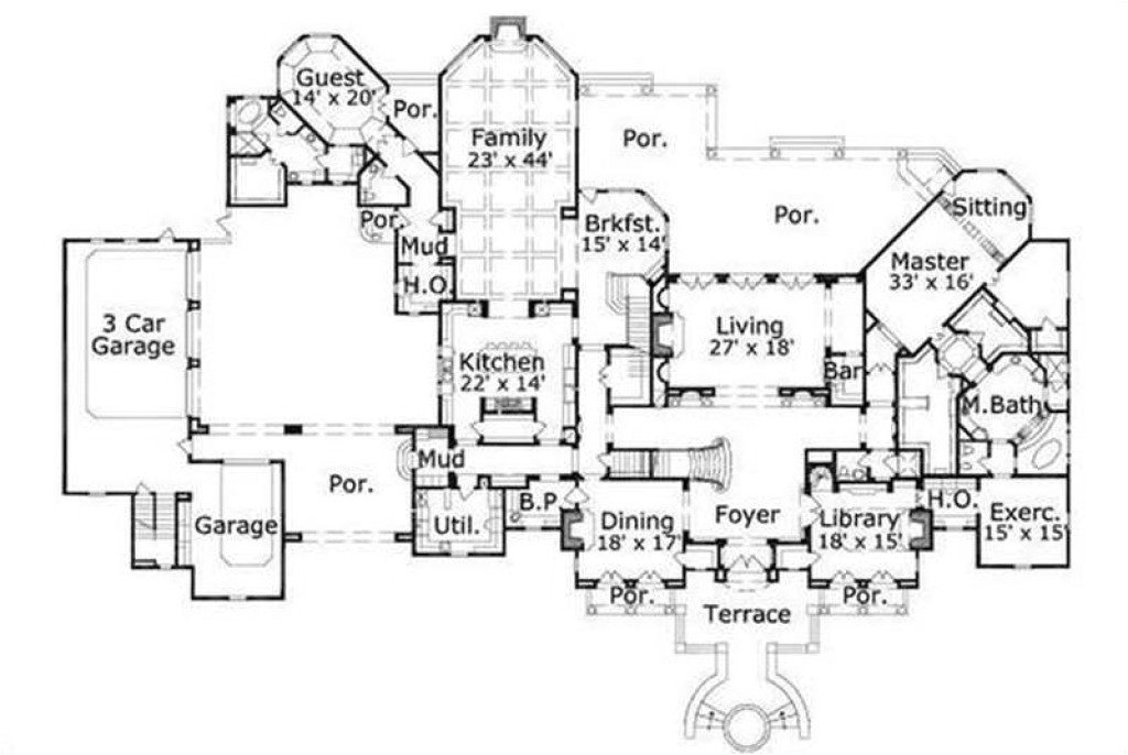 luxury home designs plans with good unique homes designs house designs floor plans unique