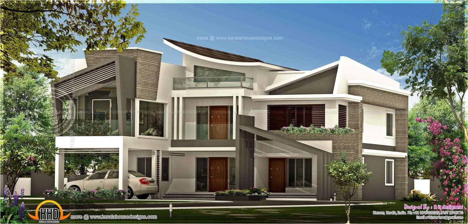 unique contemporary luxury house