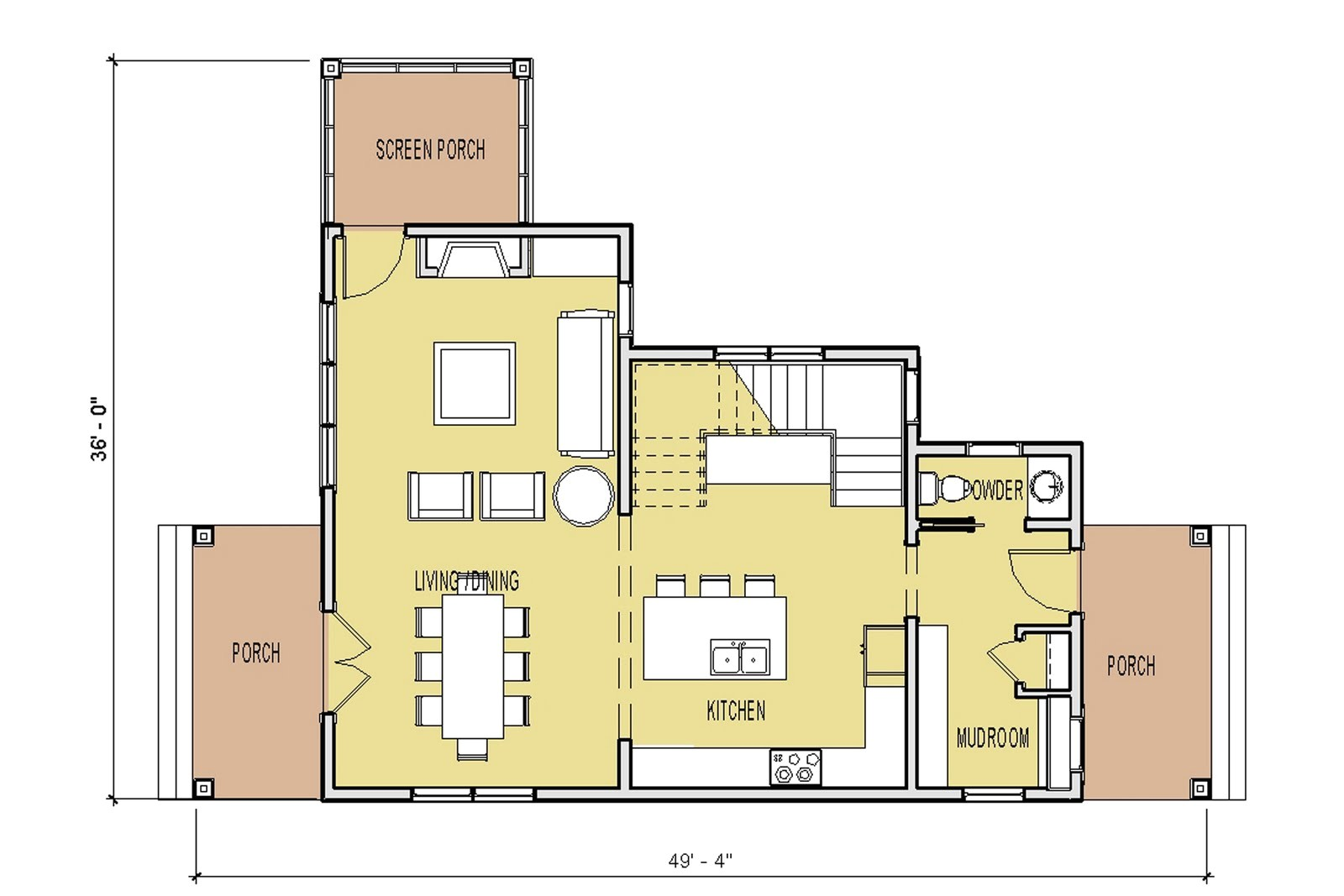 new unique small house plan
