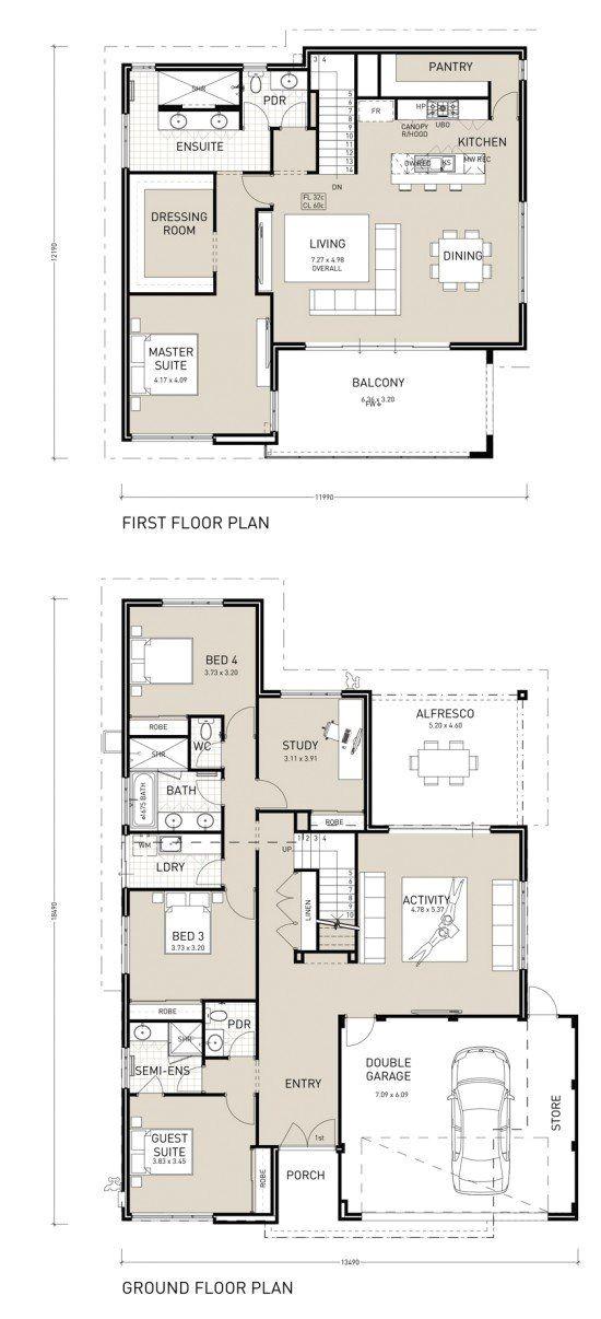 Upside Down Beach House Plans Nautica Upside Down Living Design Reverse Living Plan