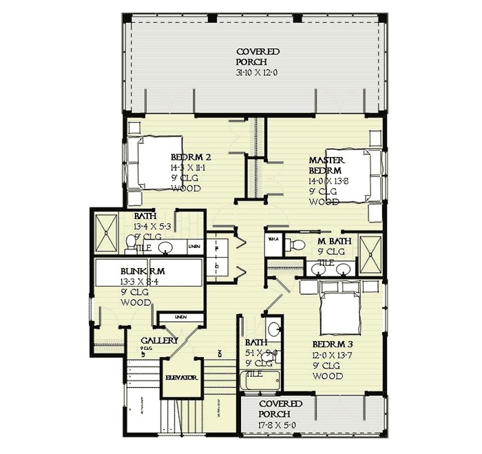 upside down beach house 970015vc