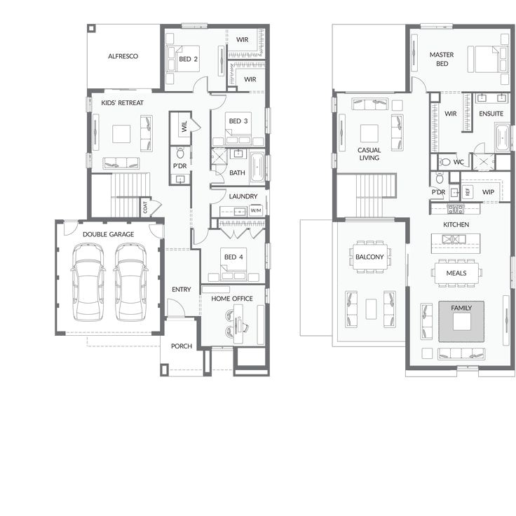 upside down living house plans