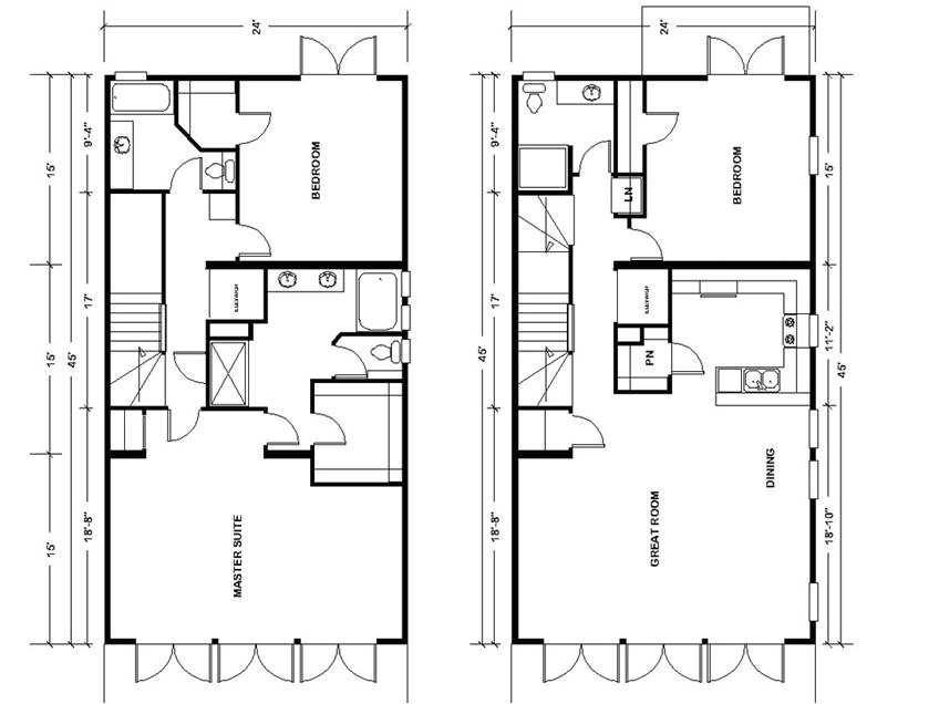 urban floor plans