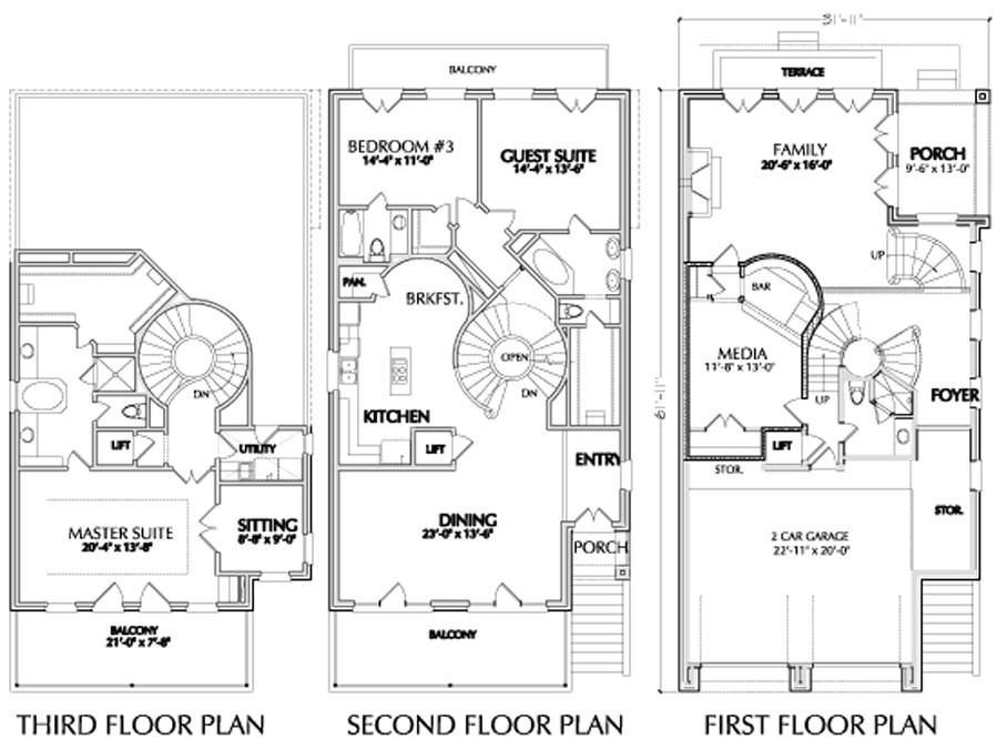 urban home floor plan sale narrow 2